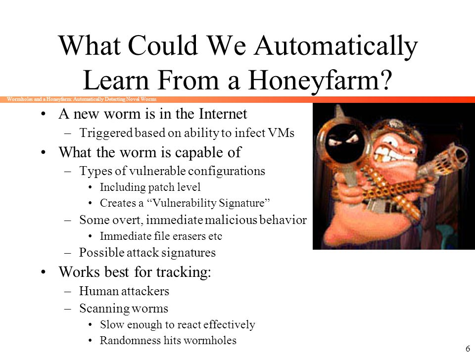 What Could We Automatically Learn From a Honeyfarm