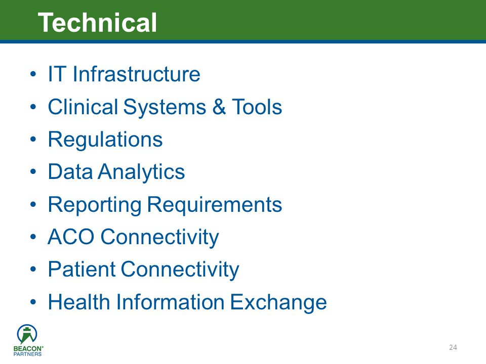 Technical IT Infrastructure Clinical Systems & Tools Regulations