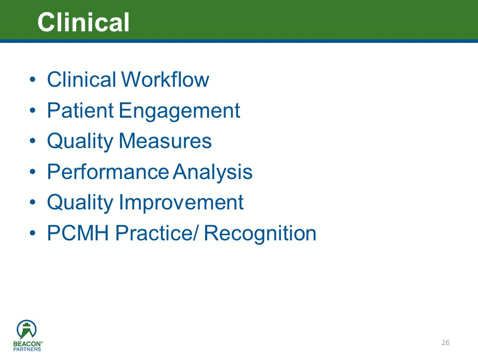 Clinical Clinical Workflow Patient Engagement Quality Measures