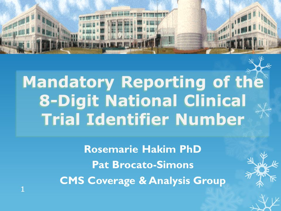 CMS Coverage & Analysis Group