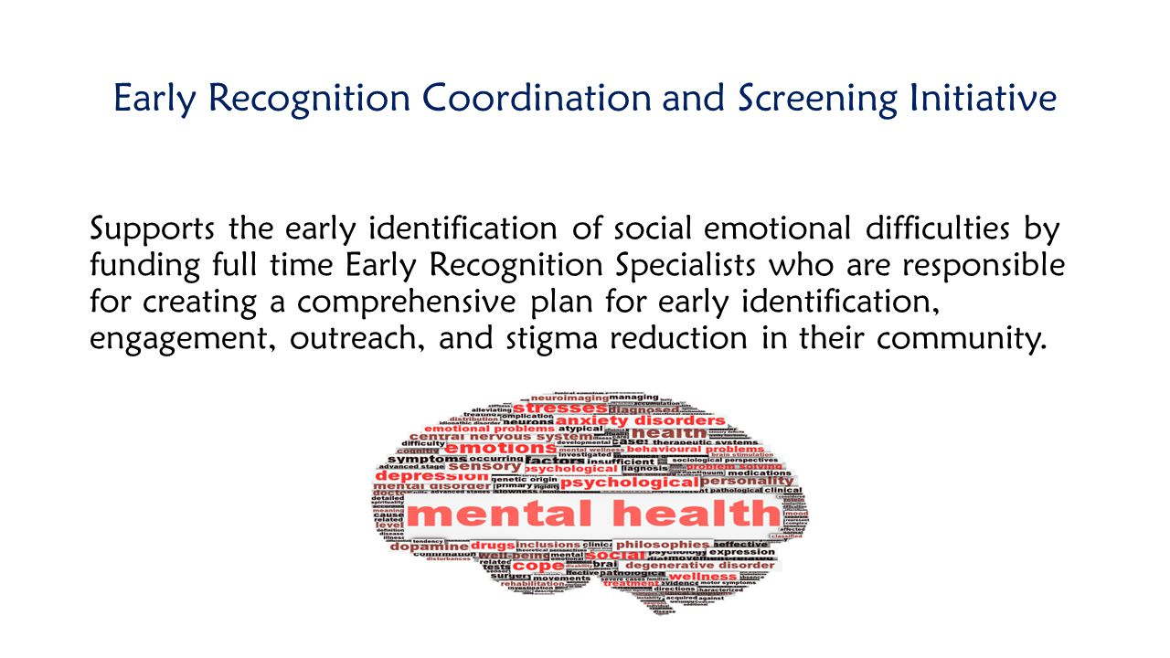 Early Recognition Coordination and Screening Initiative