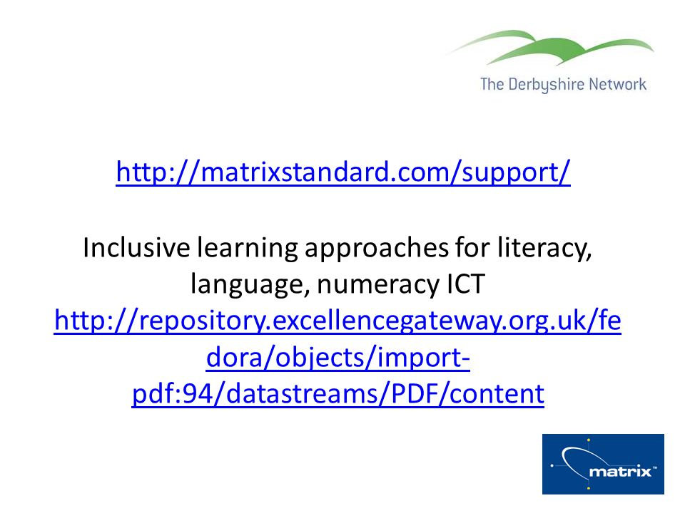 Inclusive learning approaches for literacy, language, numeracy ICT