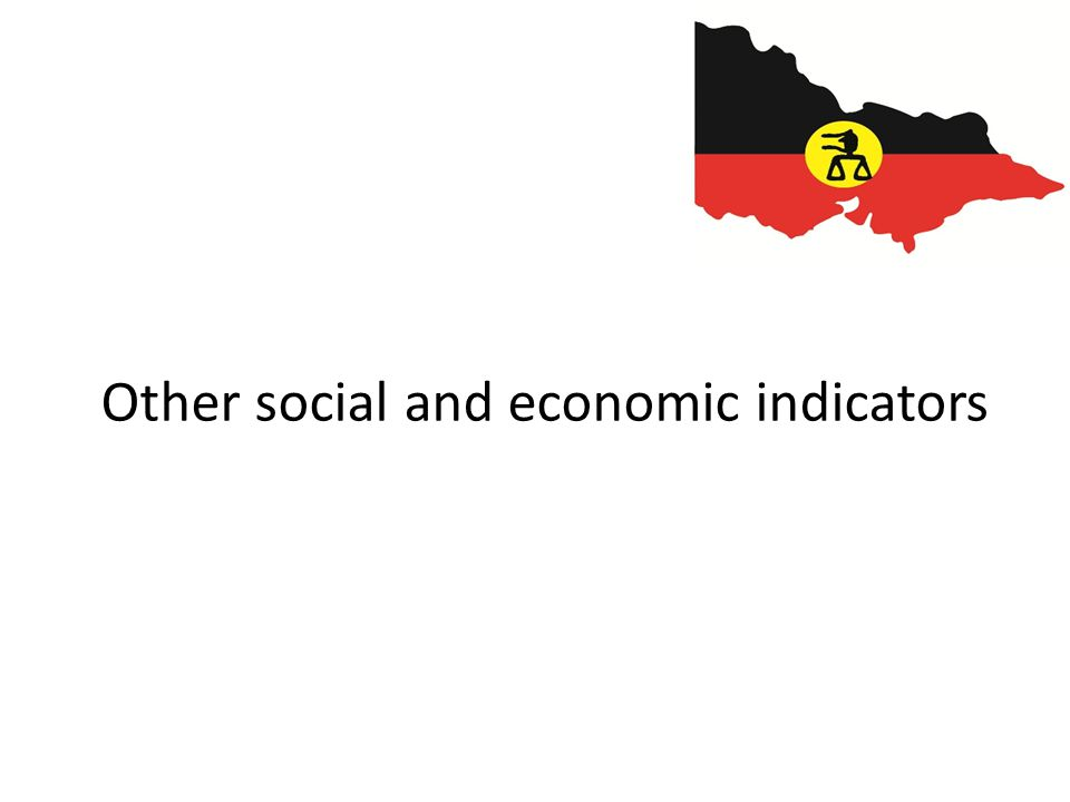 Other social and economic indicators