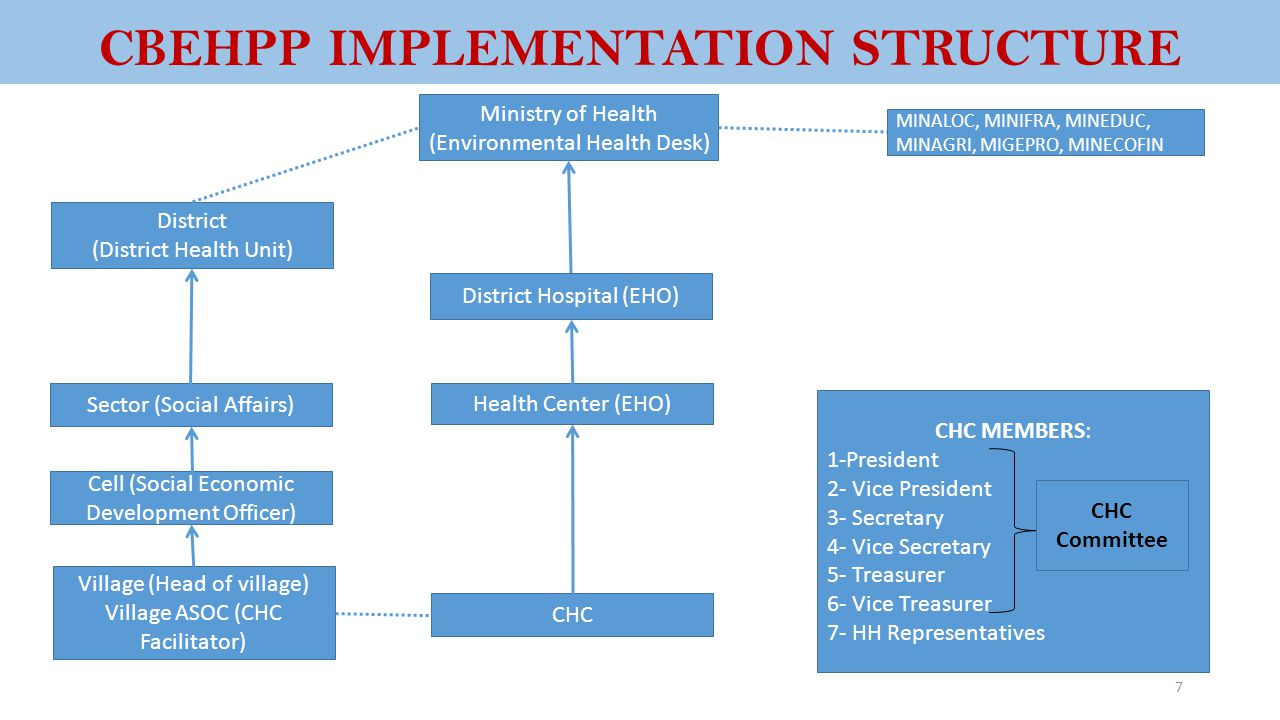 CBEHPP IMPLEMENTATION STRUCTURE