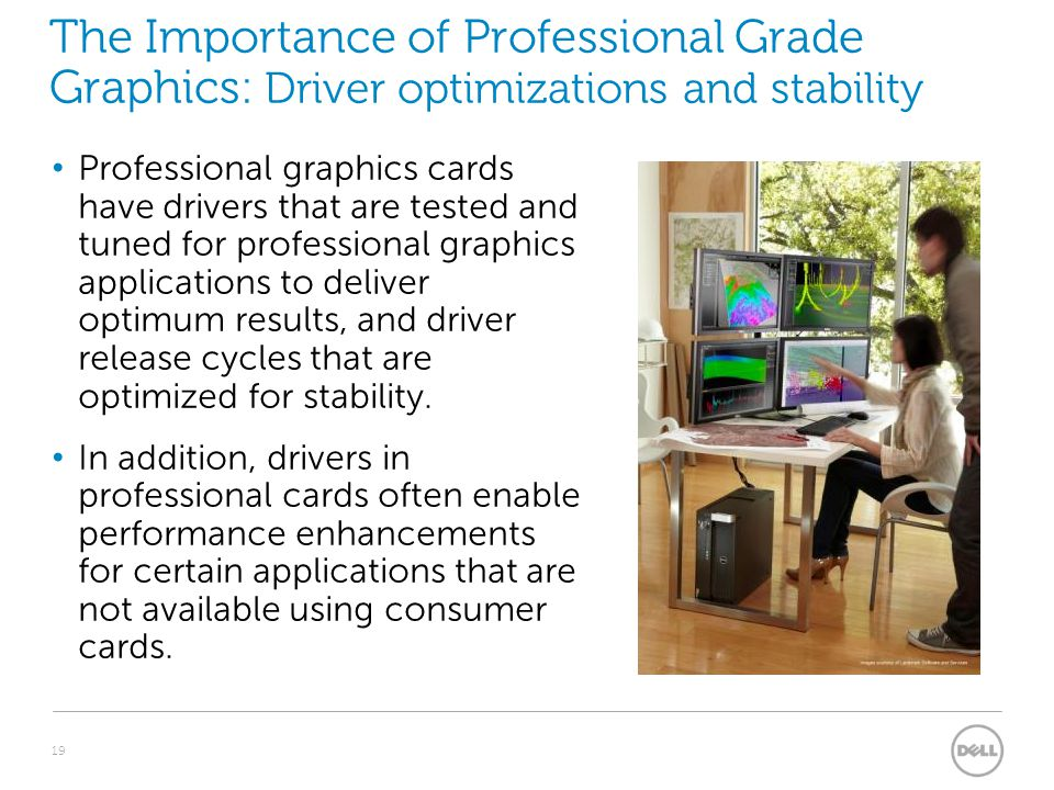 The Importance of Professional Grade Graphics: Driver optimizations and stability