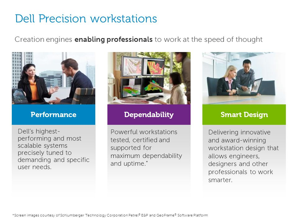 Dell Precision workstations