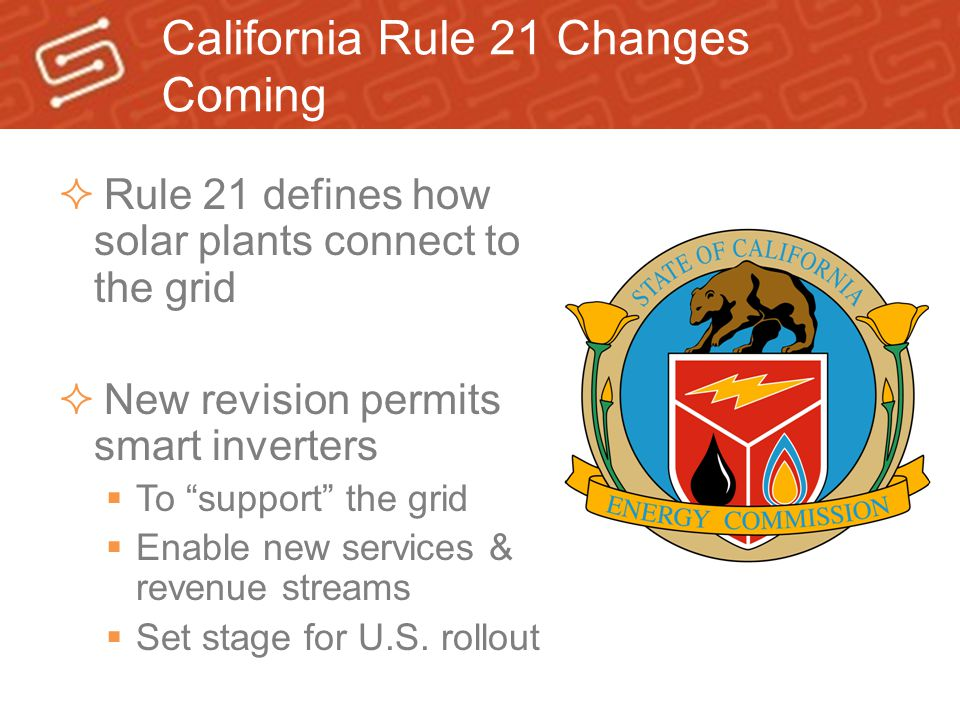 California Rule 21 Changes Coming