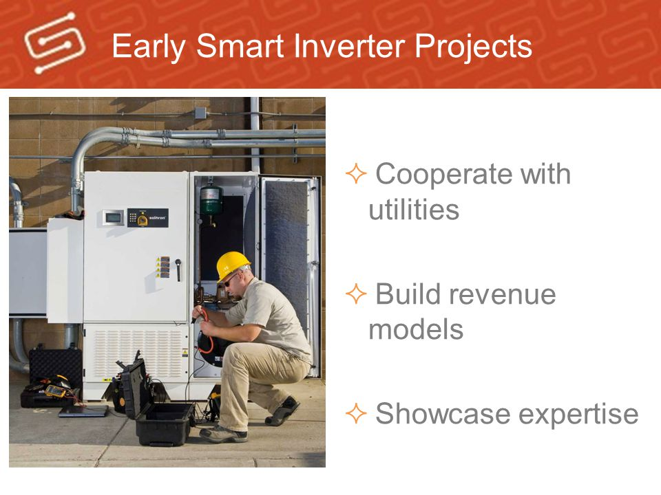 Early Smart Inverter Projects