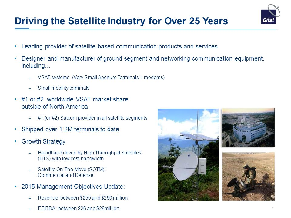 Driving the Satellite Industry for Over 25 Years