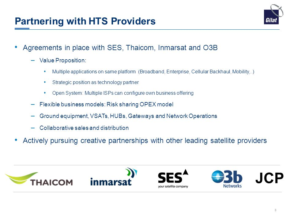 Partnering with HTS Providers