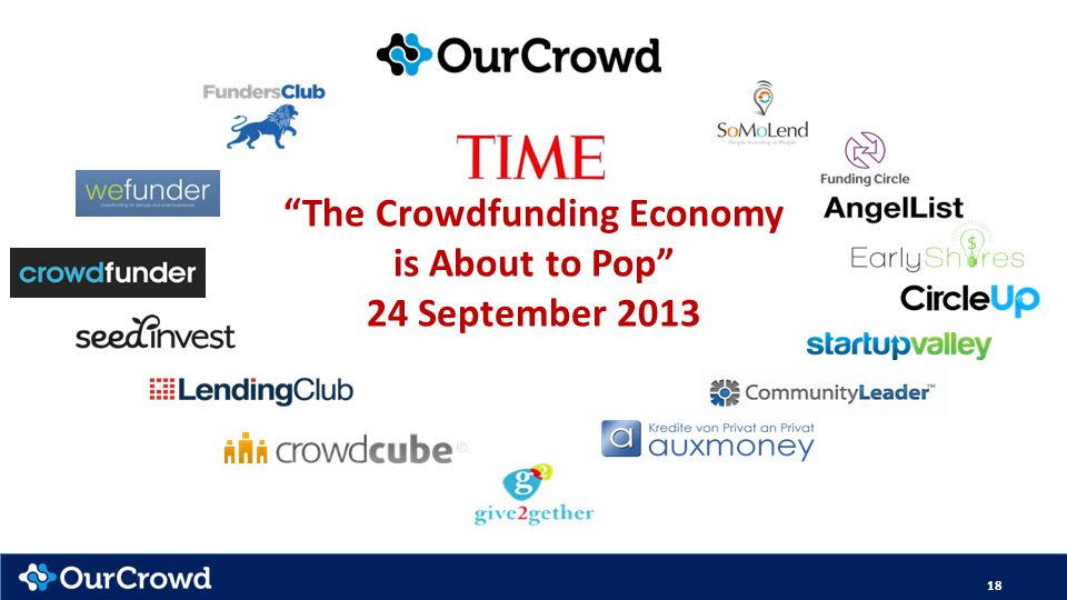 The Crowdfunding Economy is About to Pop 24 September 2013