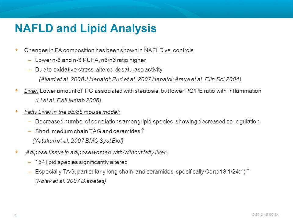 NAFLD and Lipid Analysis