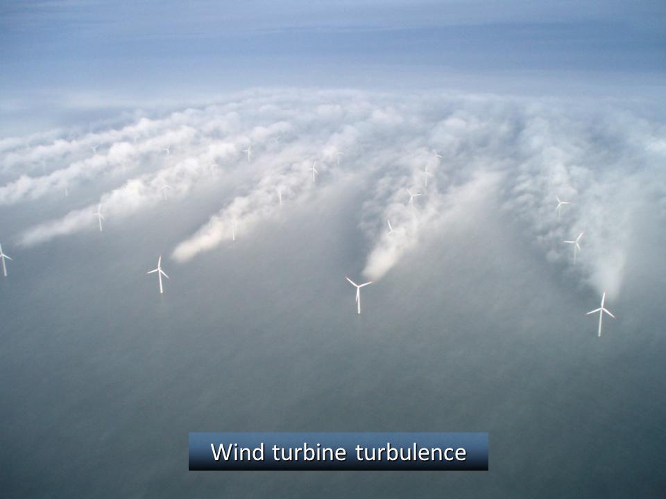 Wind turbine turbulence