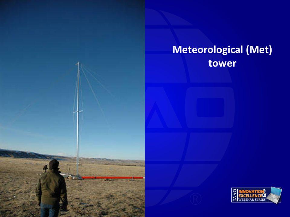 Meteorological (Met) tower