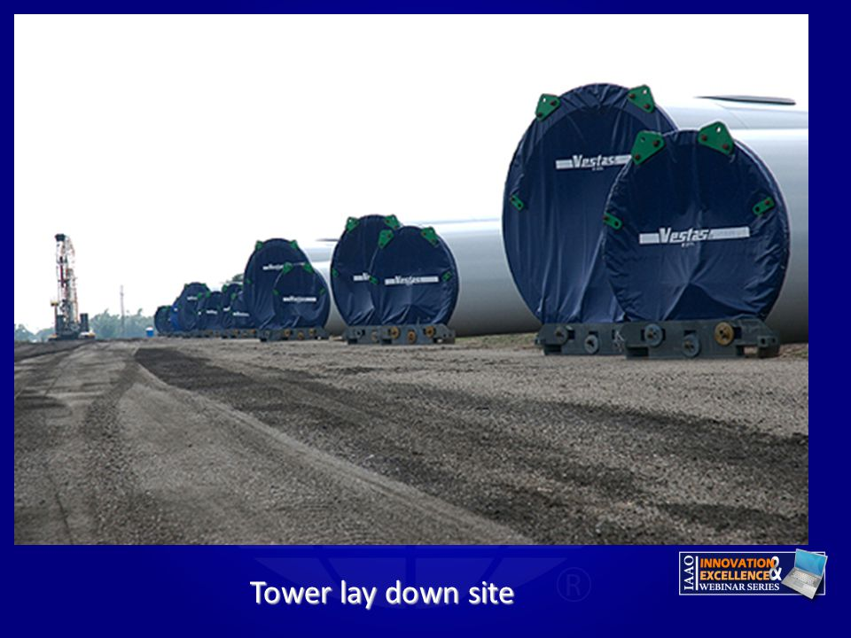 Gary Tower lay down site