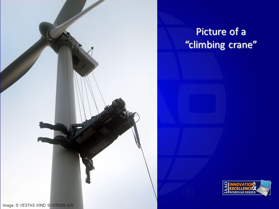 Picture of a climbing crane