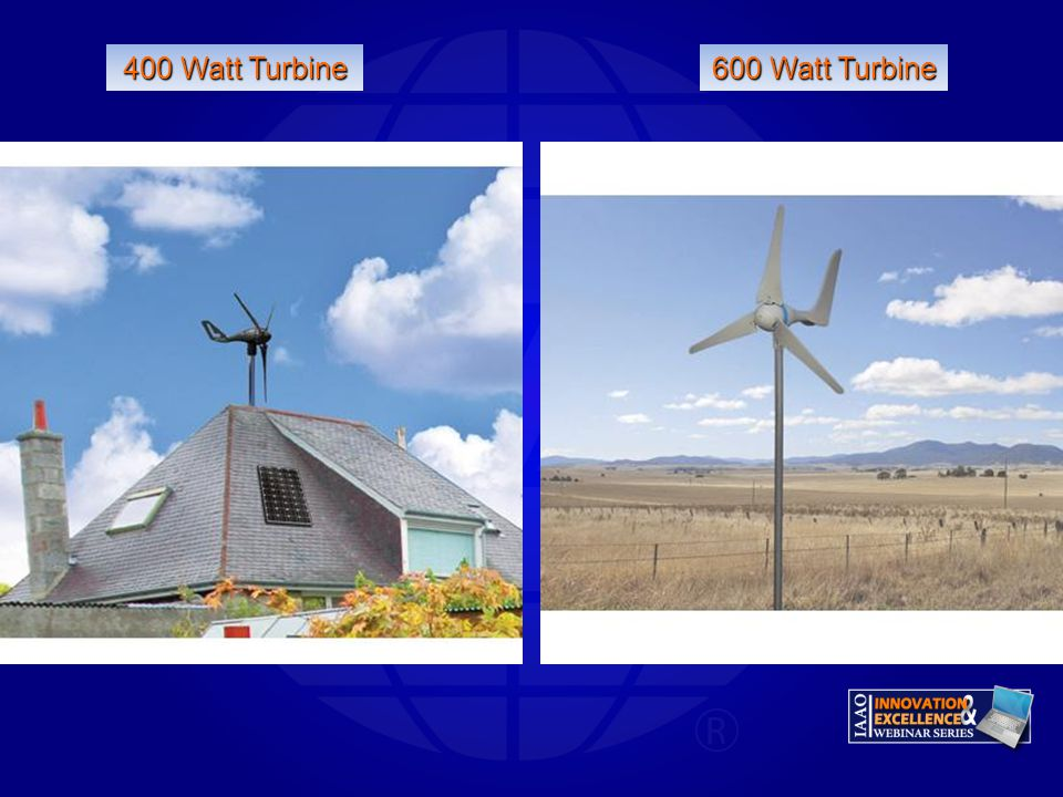 400 Watt Turbine 600 Watt Turbine Gary