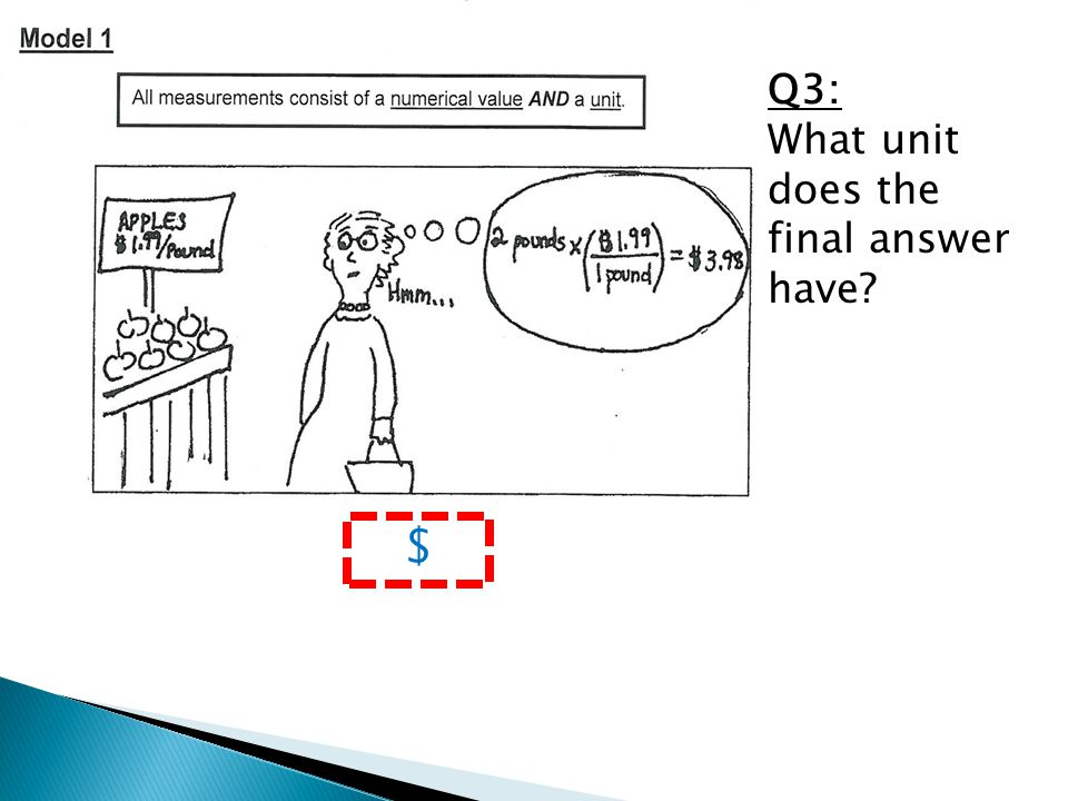 Q3: What unit does the final answer have