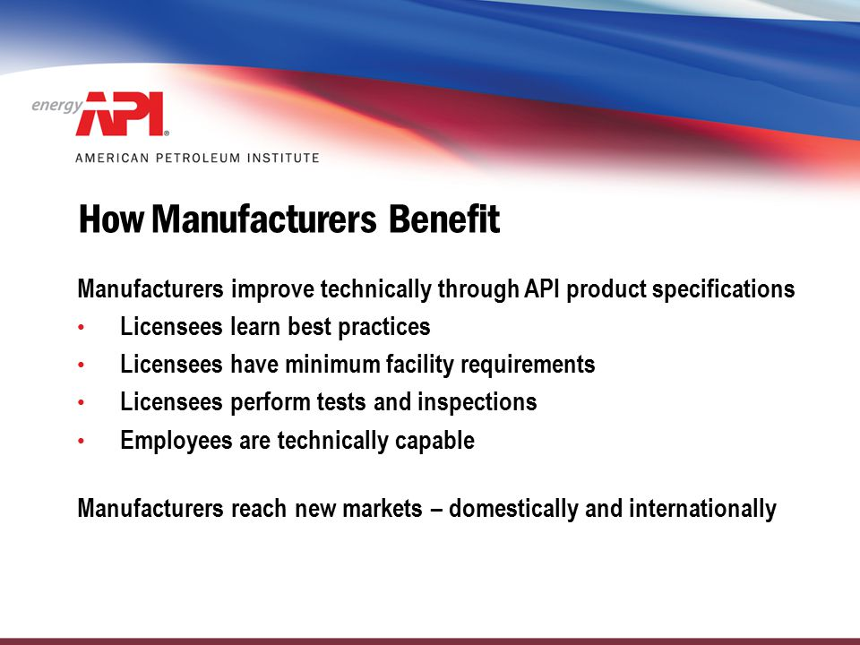 How Manufacturers Benefit