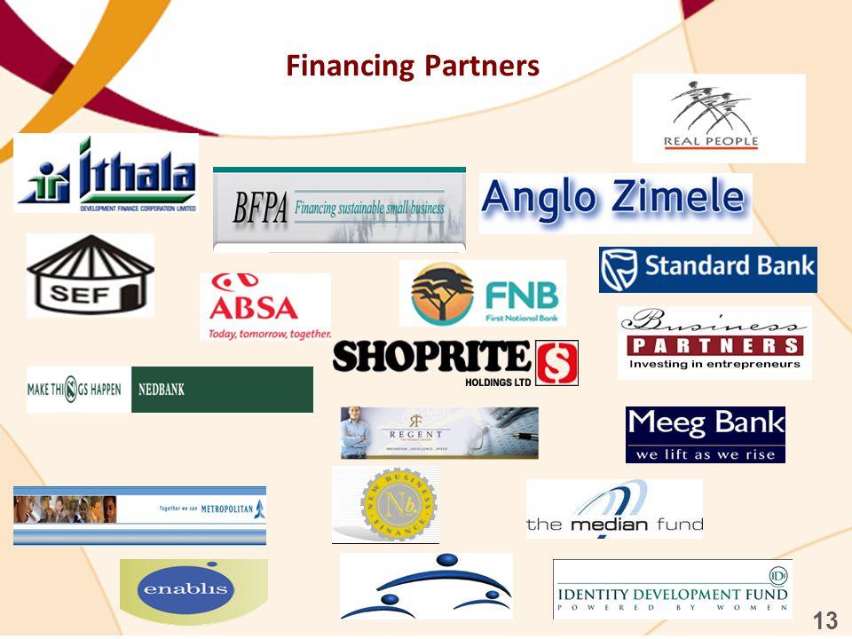 Financing Partners 13 19