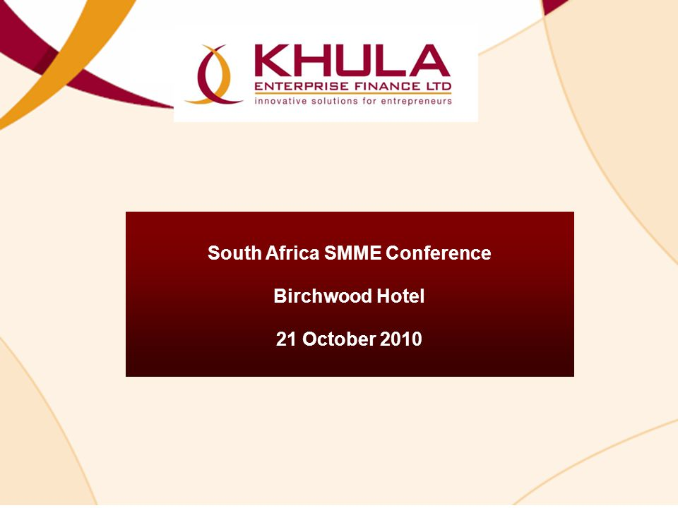 South Africa SMME Conference
