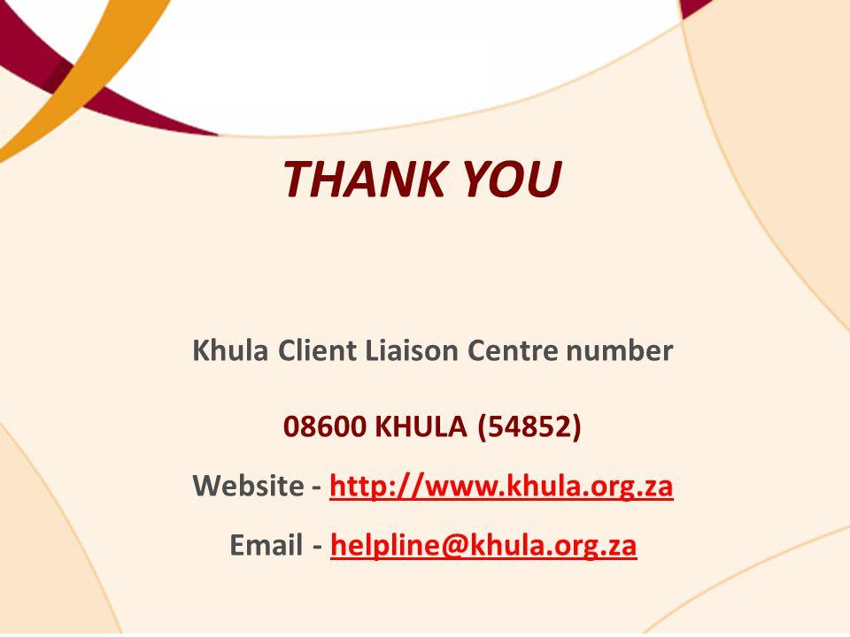 Khula Client Liaison Centre number