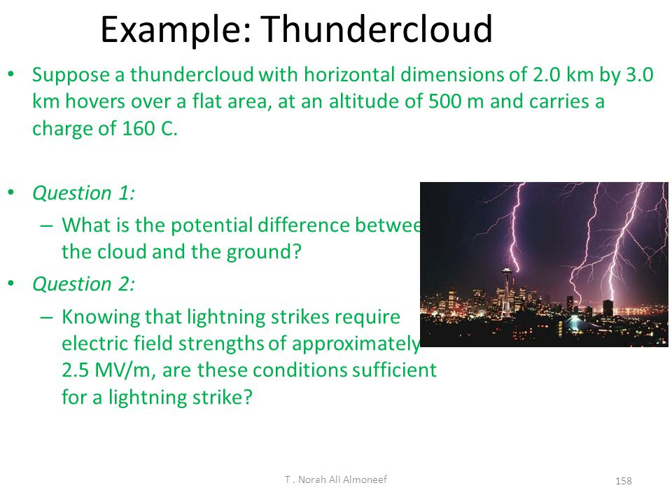 Example: Thundercloud