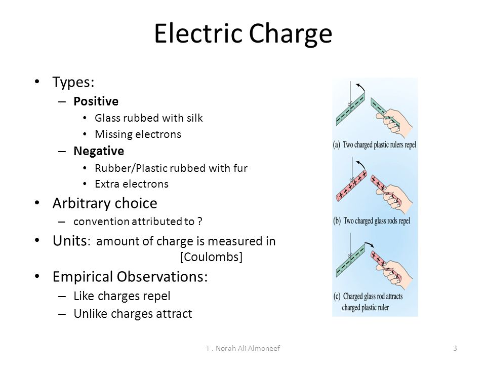Electric Charge Types: Arbitrary choice