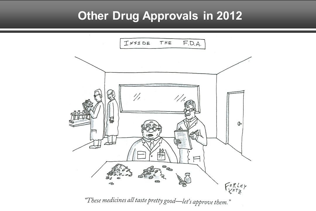 Other Drug Approvals in 2012