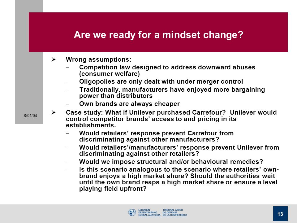 Are we ready for a mindset change