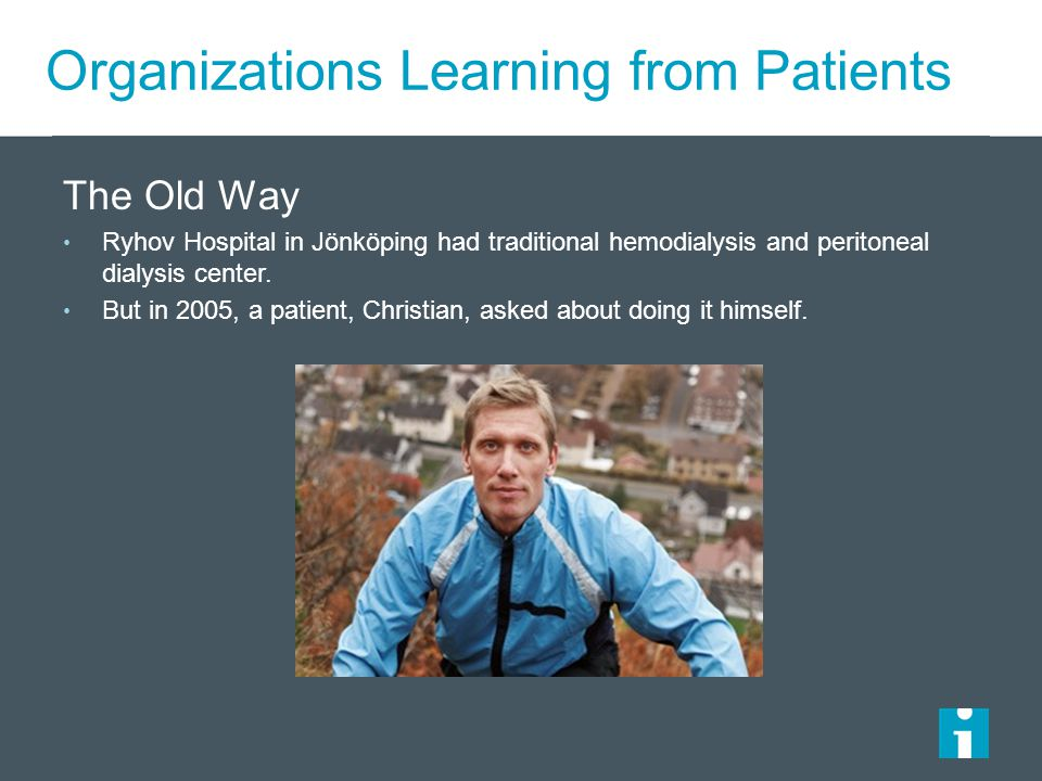 Organizations Learning from Patients