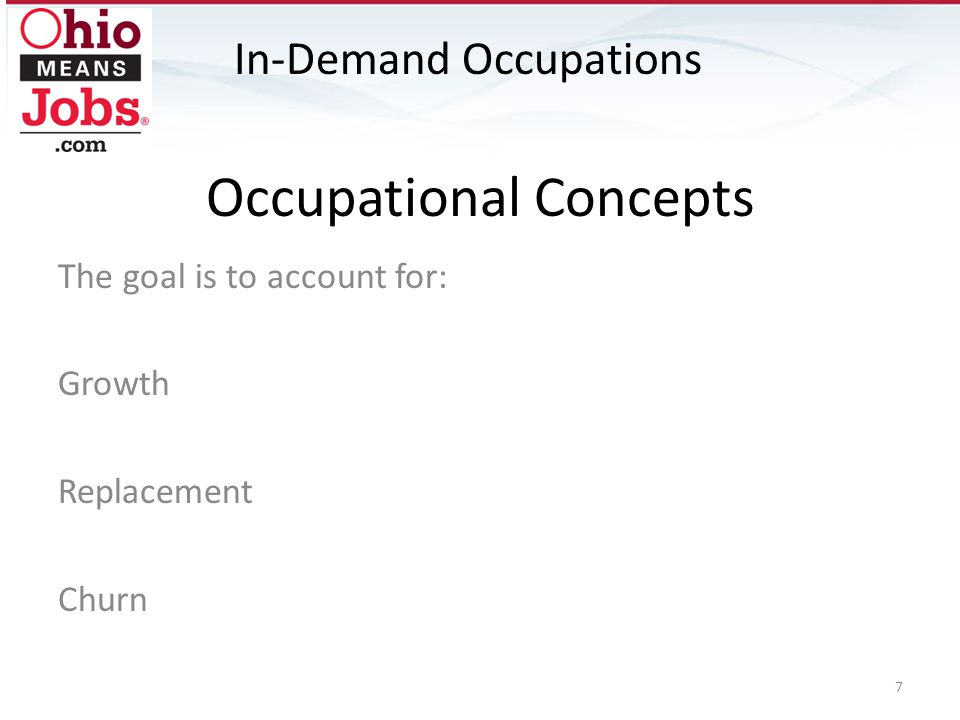 Occupational Concepts