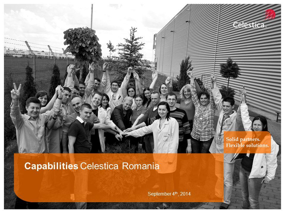 Capabilities Celestica Romania