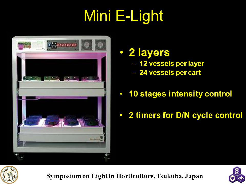 Mini E-Light 2 layers 10 stages intensity control