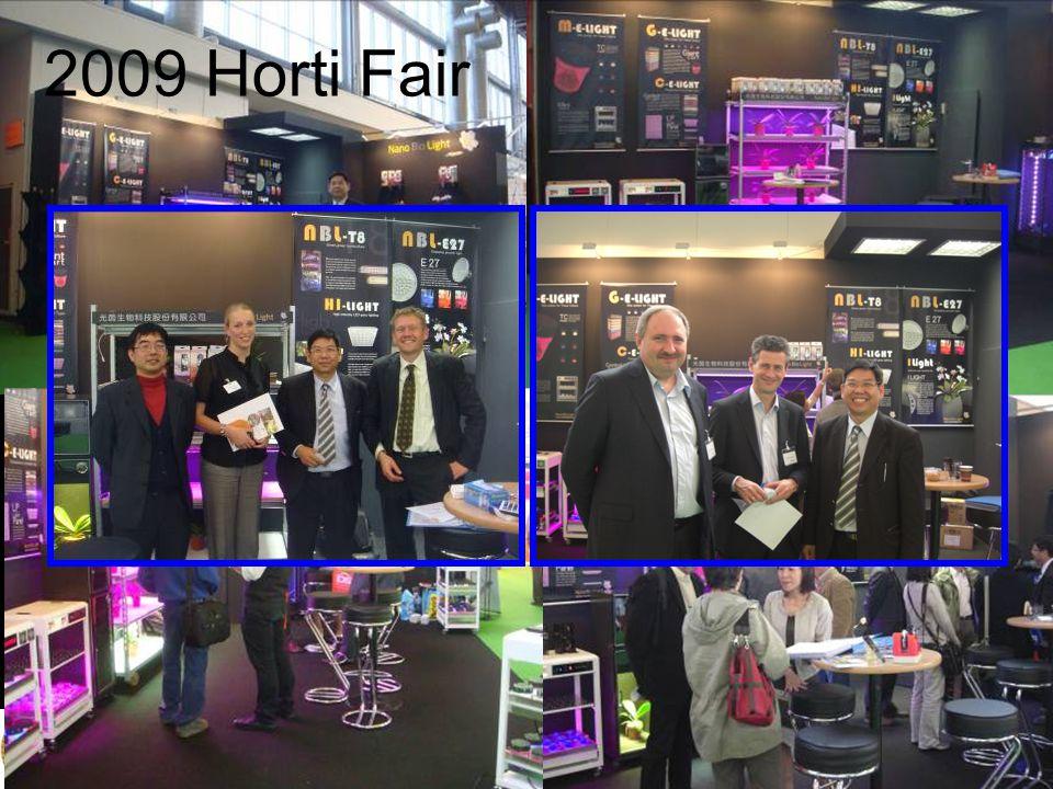 2009 Horti Fair