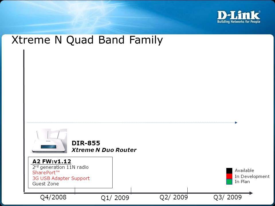 Xtreme N Quad Band Family