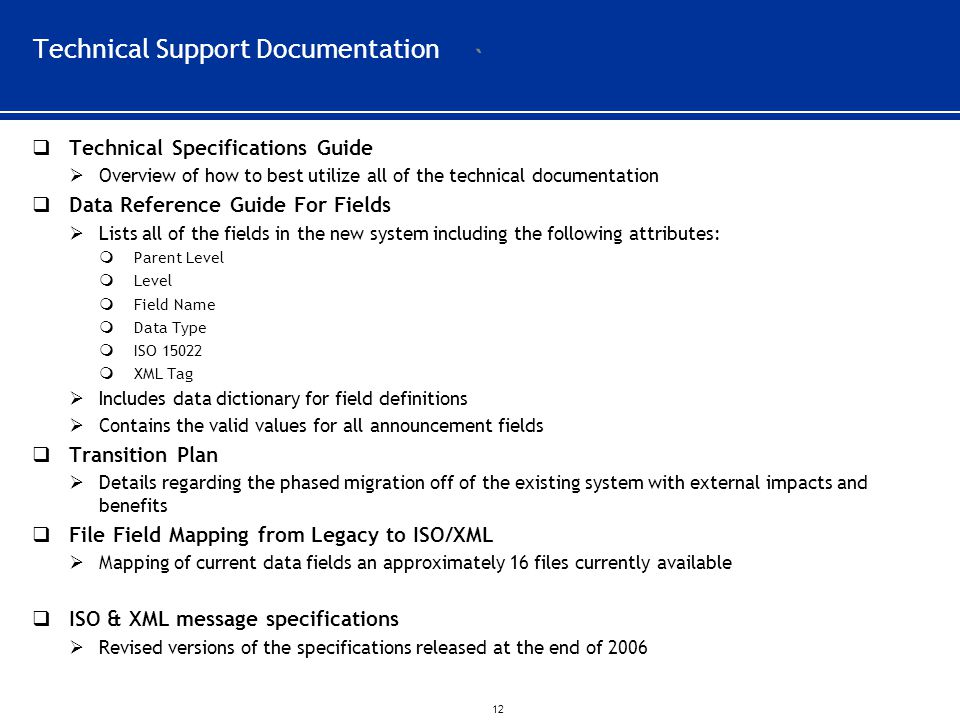Technical Support Documentation