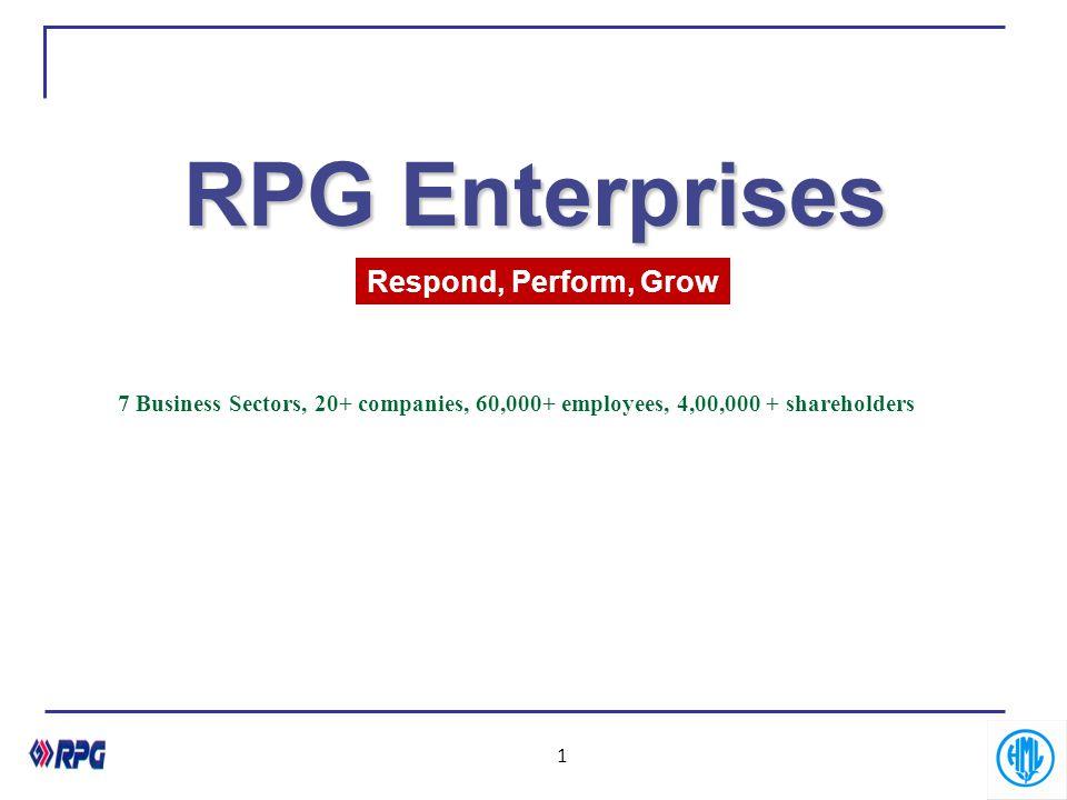 RPG Enterprises Respond, Perform, Grow