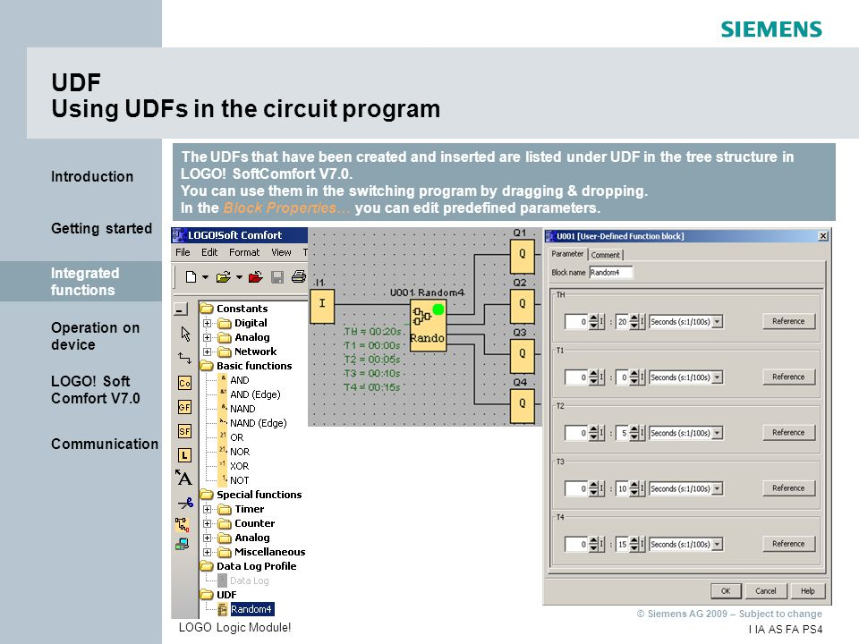 UDF Using UDFs in the circuit program