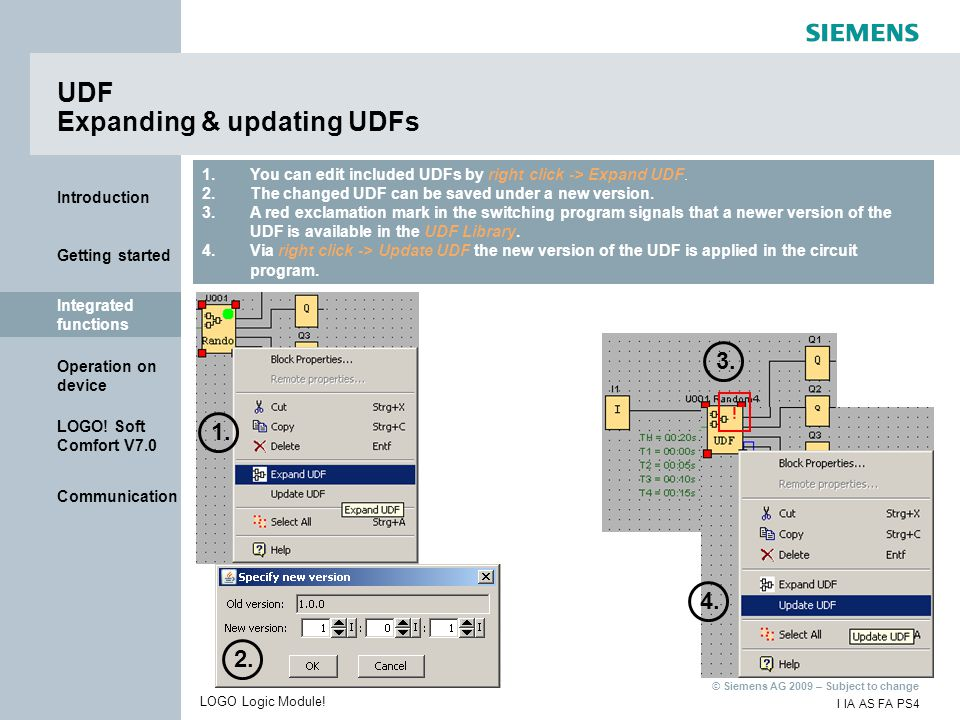 UDF Expanding & updating UDFs