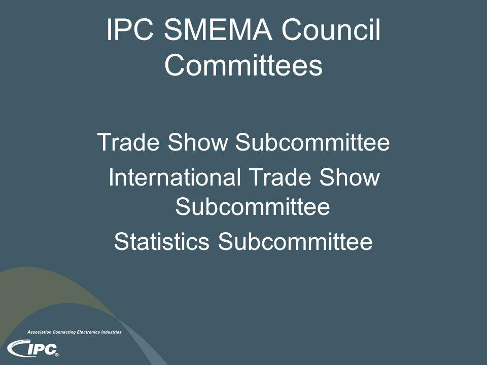 IPC SMEMA Council Committees