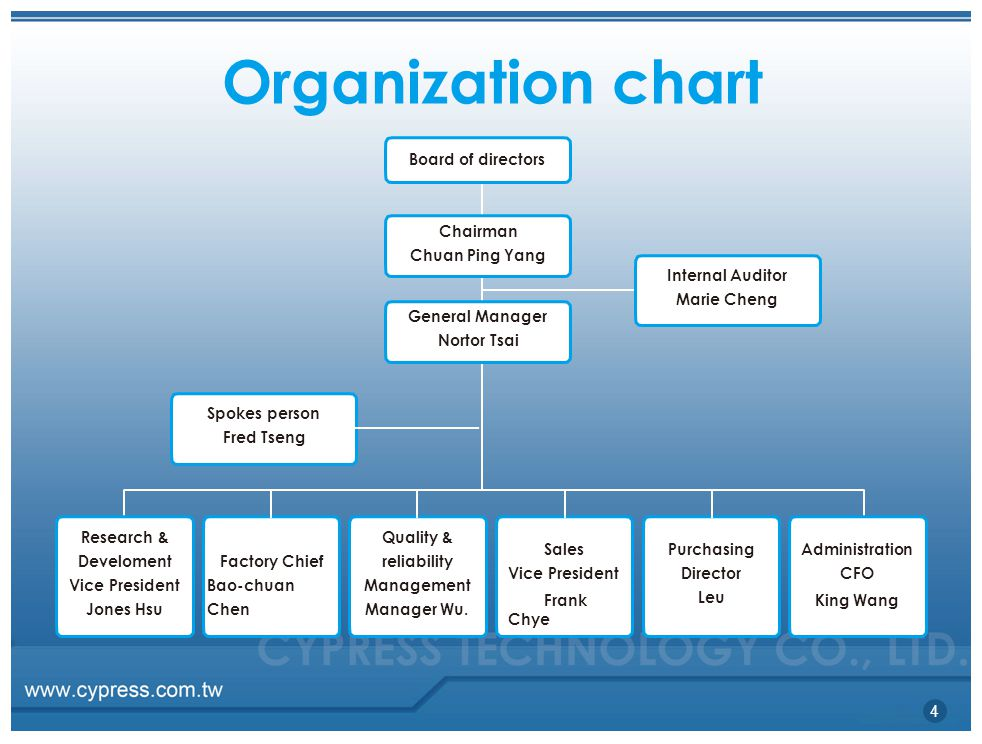 Organisation structure of nokia company