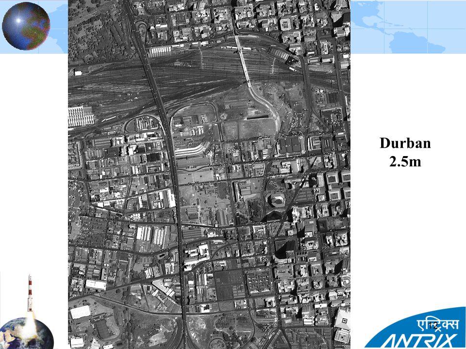 Durban 2.5m 12