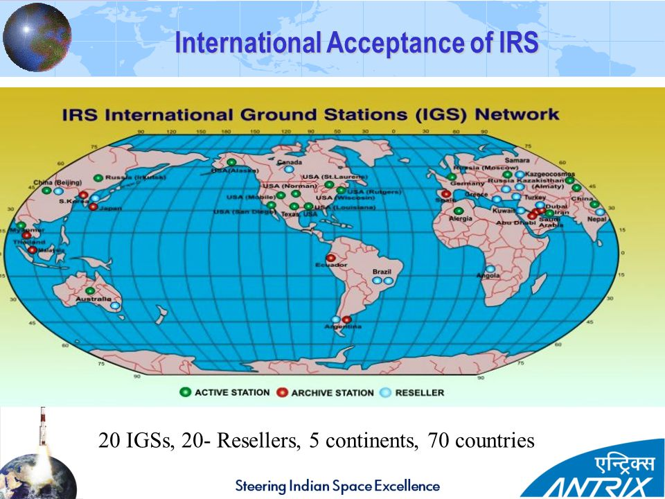 International Acceptance of IRS