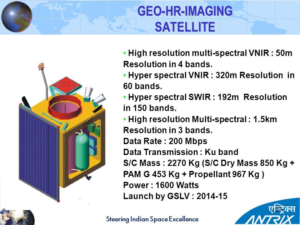 GEO-HR-IMAGING SATELLITE