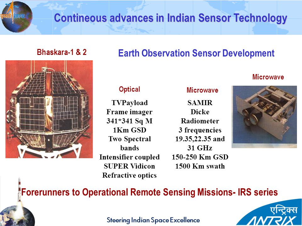 Contineous advances in Indian Sensor Technology