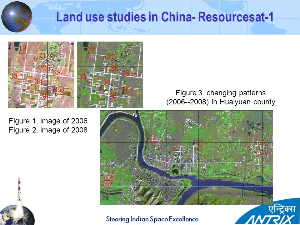 Land use studies in China- Resourcesat-1