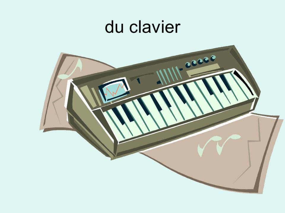 du clavier