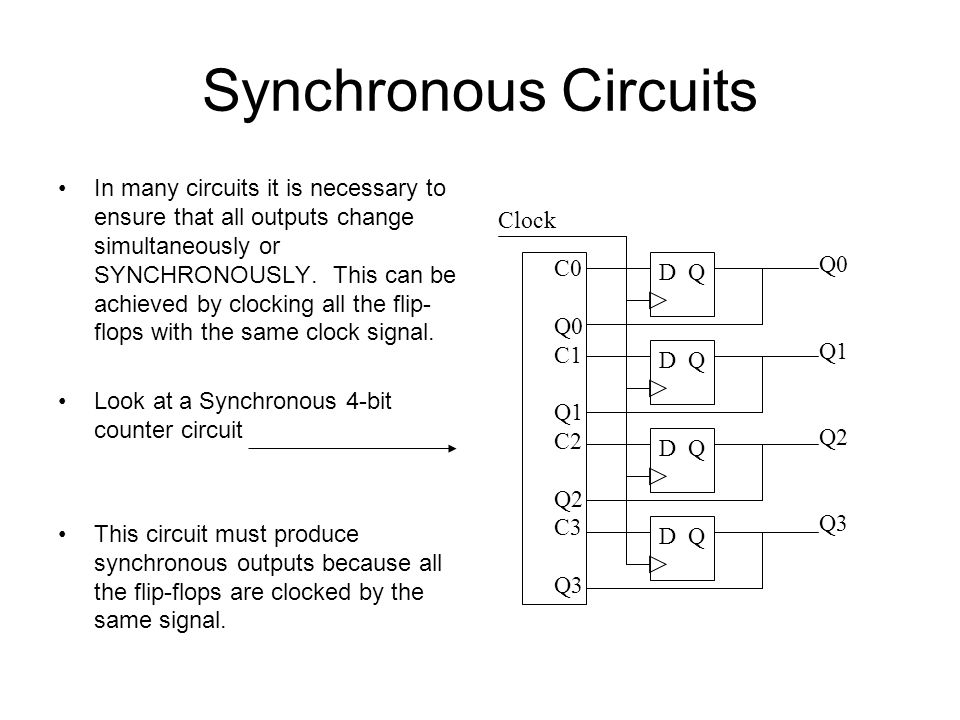 Synchronous Circuits