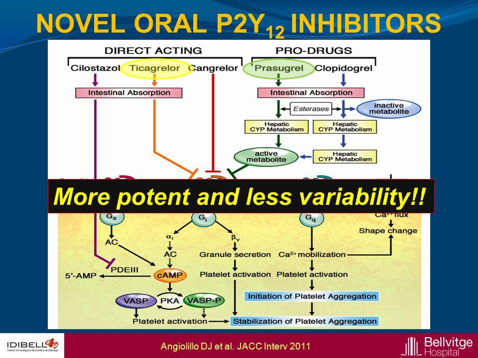 Novel ORAL P2Y12 Inhibitors